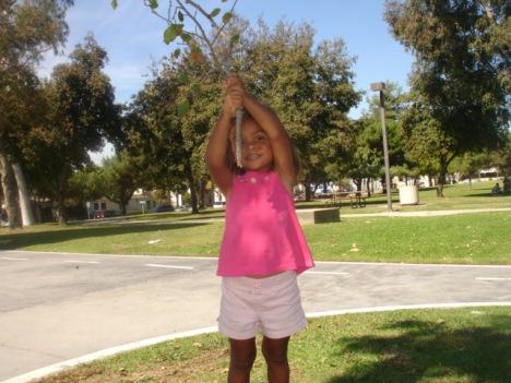 I'm a tree!